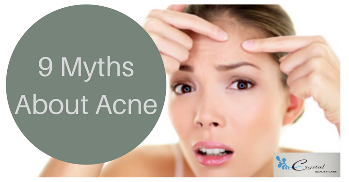Top 9 Acne Myths